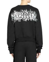 Off-White c/o Virgil Abloh - Black Natural Woman Graphic Sweatshirt - Lyst