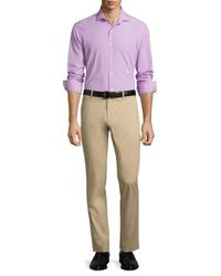 Polo Ralph Lauren - Purple Poplin Estate Cotton Shirt for Men - Lyst
