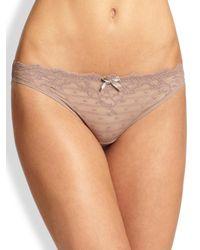 Chantelle - Natural Women's Rive Gauche Panty - Milky Way - Size Large - Lyst