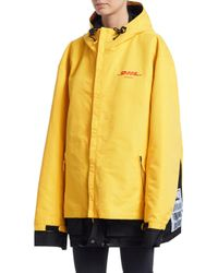Vetements Yellow Dhl Parka