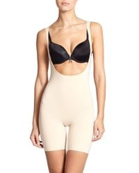 Wacoal - Natural Smooth Complexion Torsette Mid-thigh Bodysuit - Lyst