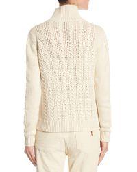 Loro Piana - Natural Dolcevita Warwick Turtleneck Sweater - Lyst