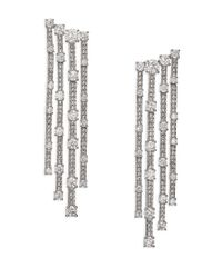 Adriana Orsini | Metallic Decadence Cascade Drop Earrings | Lyst