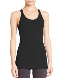 Beyond Yoga Black Cross Back Camisole