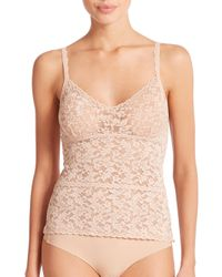 Hanky Panky - Natural Retro Stretch Lace Cami - Lyst