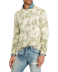 Polo Ralph Lauren - Green Roll Neck Sweater for Men - Lyst