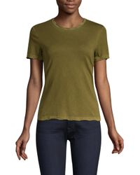 Cotton Citizen - Green The Classic Crew Distressed Tee - Lyst