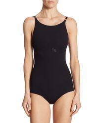 Wolford Black One-piece Forming Swim Body Swimsuit