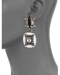 DANNIJO - Metallic Laight Earrings - Lyst