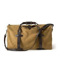 Filson - Natural Bridle Leather Duffel Bag for Men - Lyst