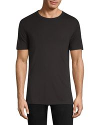 Theory Black Velocity Jersey Tee for men