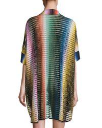 Missoni - Multicolor Rete Sfumata Swim Shirt - Lyst