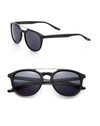Barton Perreira - Black Rainey 52mm Square Sunglasses for Men - Lyst