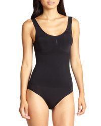Wacoal - Black Bodysuit - B-smooth Low Back #836275 - Lyst