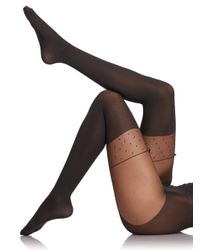 Wolford | Black Daphne Tights | Lyst