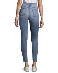Hudson Blue Lace-up Jeans