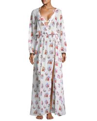 Sinesia Karol Multicolor Women's Mila Floral Coverup - Floral