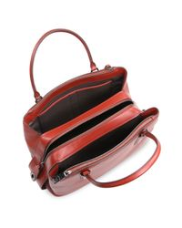 COACH - Multicolor Brooklyn Pebbled Leather Satchel - Lyst