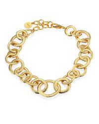 Nest - Metallic Short Chain Necklace - Lyst