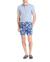 Polo Ralph Lauren - Green Floral Print Board Shorts for Men - Lyst