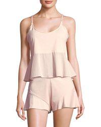 Skin Pink Lara Cotton Camisole