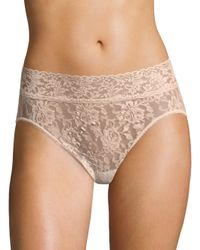 Hanky Panky Natural Women's Lace French Briefs - Chai
