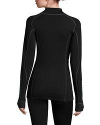 Helly Hansen - Black Merino Wool-blend Base-layer Top - Lyst