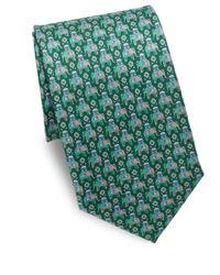 Ferragamo - Green Arabian Elephant Silk Tie for Men - Lyst