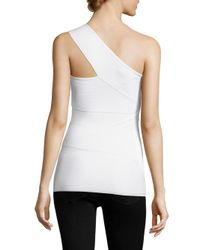 Bailey 44 - White Spin Out One-shoulder Top - Lyst