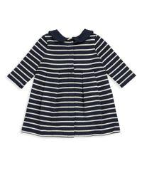 Petit Bateau - Blue Baby's Leonore Striped Dress - Lyst