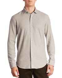Polo Ralph Lauren - Multicolor Solid Casual Button-down Shirt for Men - Lyst