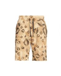 1017 ALYX 9SM Natural Leopard-print Sweat Shorts for men