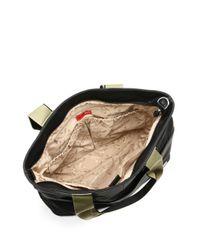 Storksak - Black Eden Faux Leather Diaper Bag - Lyst