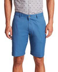 Saks Fifth Avenue - Blue Golf Shorts for Men - Lyst