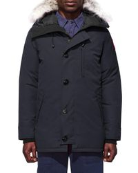 Canada Goose Blue Chateau Parka for men