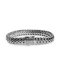 John Hardy - Metallic Classic Chain Sterling Silver Large Bracelet - Lyst