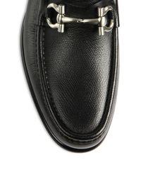 Ferragamo - Black Mason Loafers for Men - Lyst