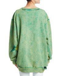 Alchemist Green Kool Pullover Sweatshirt