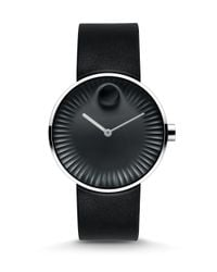 Movado - Metallic Edge Stainless Steel Watch for Men - Lyst