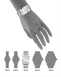 Baume & Mercier - Metallic Hampton Diamond, Mother-of-pearl & Stainless Steel Bracelet Watch - Lyst