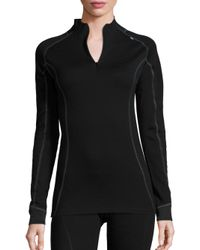 Helly Hansen | Black Merino Wool-blend Base-layer Top | Lyst