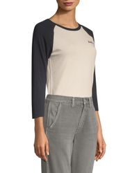 AMO - Multicolor Raglan Baseball Shirt - Lyst