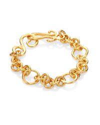 Stephanie Kantis - Metallic Coronation Small Chain Bracelet - Lyst
