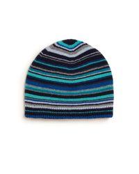 Paul Smith - Blue Striped Beanie for Men - Lyst