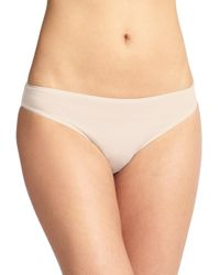 Hanro - White Cotton Sensation Bikini - Lyst