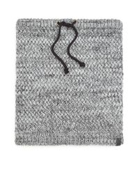 Bickley + Mitchell - Gray Faux Sherpa-lined Woven Snood for Men - Lyst