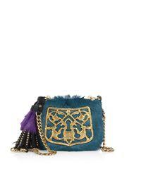 Prada - Multicolor Bandoliera Calf Hair & Leather Crossbody Bag - Lyst