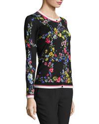 ESCADA Multicolor Women's Skanto Floral Cardigan - Fantasy