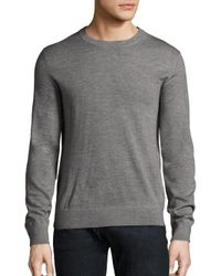 Theory - Gray Riland New Sovereign Sweater for Men - Lyst