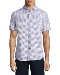 Robert Graham - White Cato Woven Shirt for Men - Lyst